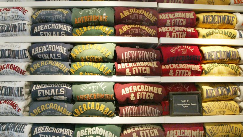 Modemarke: In einer Filiale der US-Modekette Abercrombie & Fitch