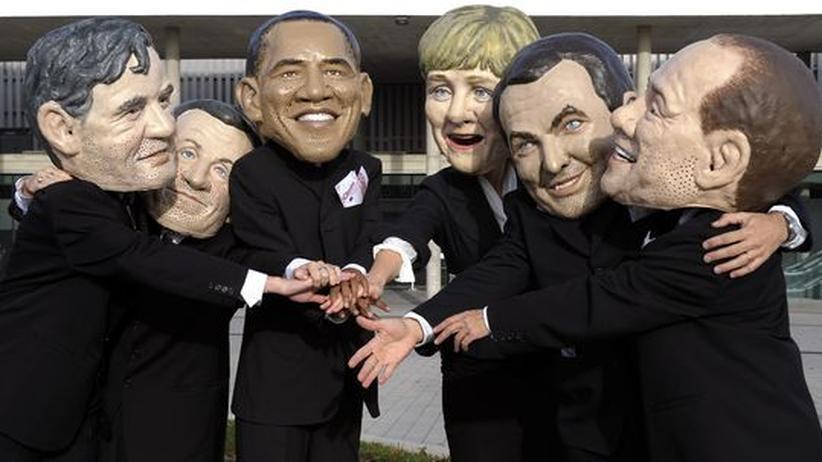 Politik und Banken: Regierungschef aus aller Welt haben in klaren Worten die Akteure der Finanzbranche kritisiert. Kritiker fragen jedoch, was faktisch dabei herausgekommen ist