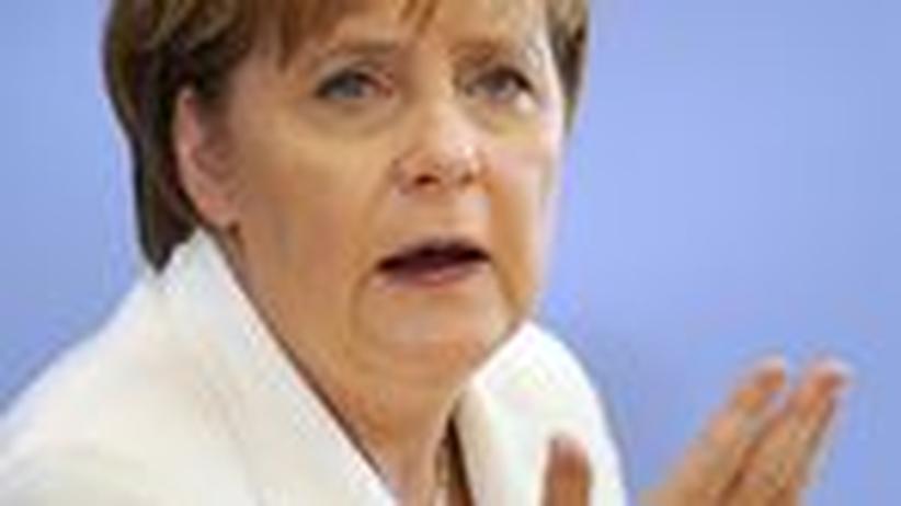 Deutschland und die EU: Kanzlerin Merkel muss die EU stabilisieren
