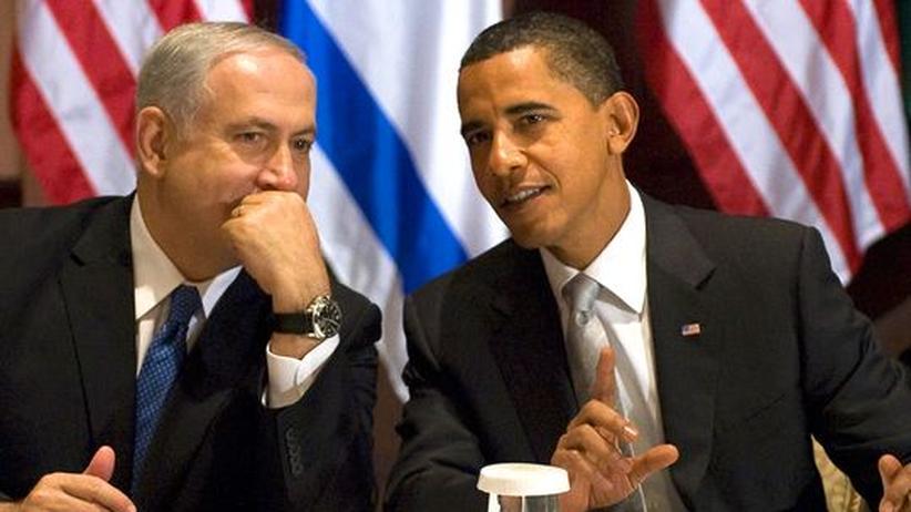 Nahost-Konflikt: Der israelische Premierminister Benjamin Netanjahu und US-Präsident Barack Obama