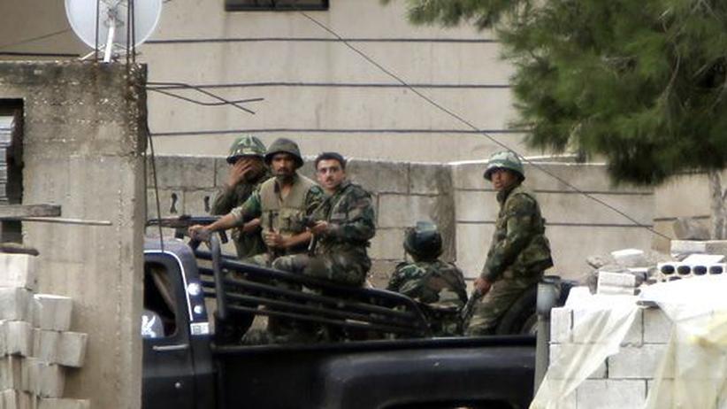Syrien: Arabischer Bürgerkrieg