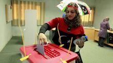 Wahl in Tripolis