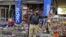 Nach einer Terroratacke in Charsadda im Nordwesten Pakistans