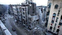 Zerstört: Das Dar Al-Shifa-Krankenhaus im Norden Aleppos, 2. Dezember 2012