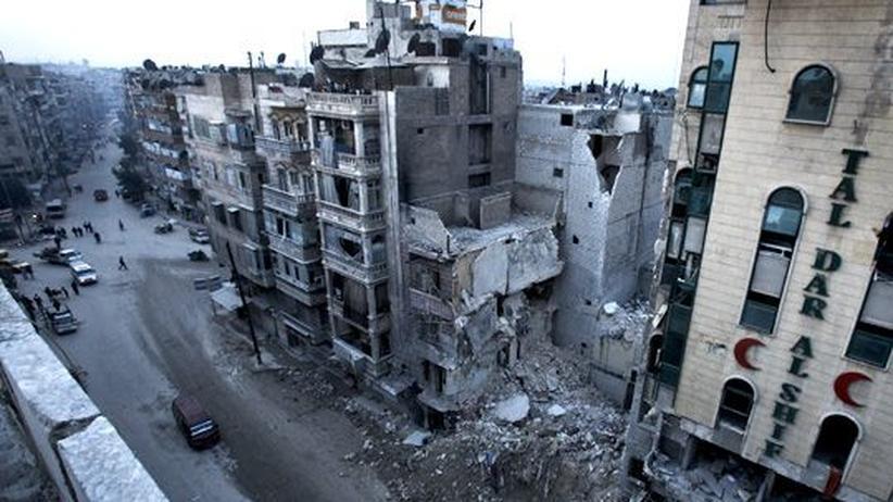 Syrien: Entscheidung in der Luft
