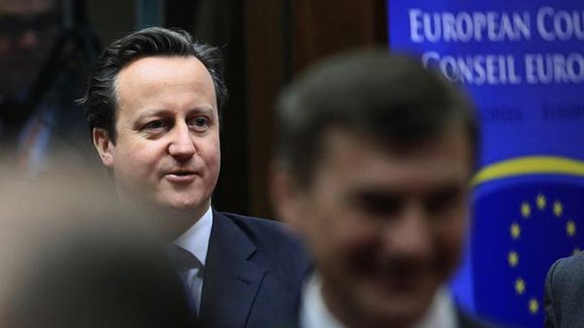 Großbritanniens Premier David Cameron