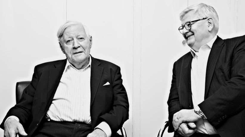 Helmut Schmidt und Joschka Fischer: »Man könnte.« – »Wenn man wollte.« Helmut Schmidt und Joschka Fischer