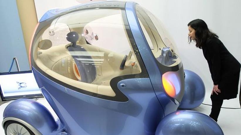 Ein japanisches Konzeptfahrzeug (Archivbild)