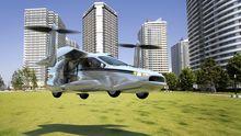 Entwurf des Flugautos TF-X, das das Unternehmen Terrafugia in den nächsten zehn Jahren entwickeln will