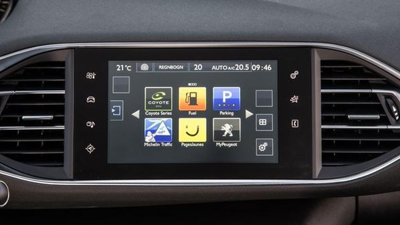 Peugeot 308 Touchscreen