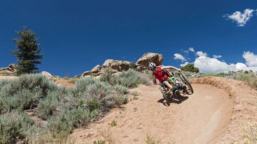 Fahrrad: Mit dem Handbike zurück in die Berge
