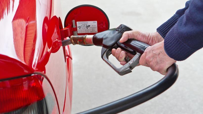 Kraftstoffverbrauch: Energielabel für ein Auto