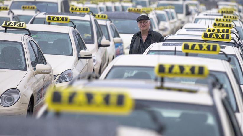Tarifverhandlungen Mindestlohn Taxifahrer