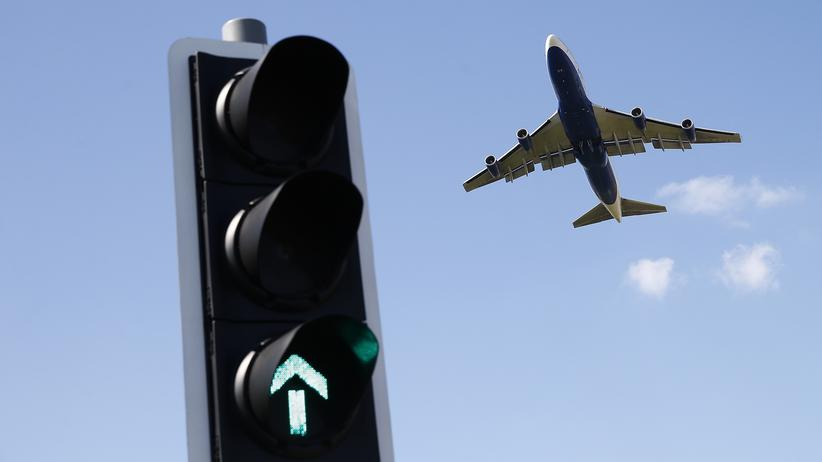 Flugverkehr Heathrow