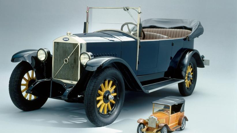 Das erste Volvo-Modell PV4 Jakob von 1927