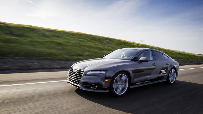 Audi A7 fährt autonom zur CES nach Las Vegas