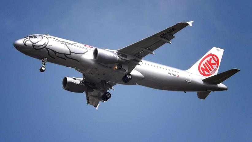 Flugzeug der Air-Berlin-Tochter NIKI