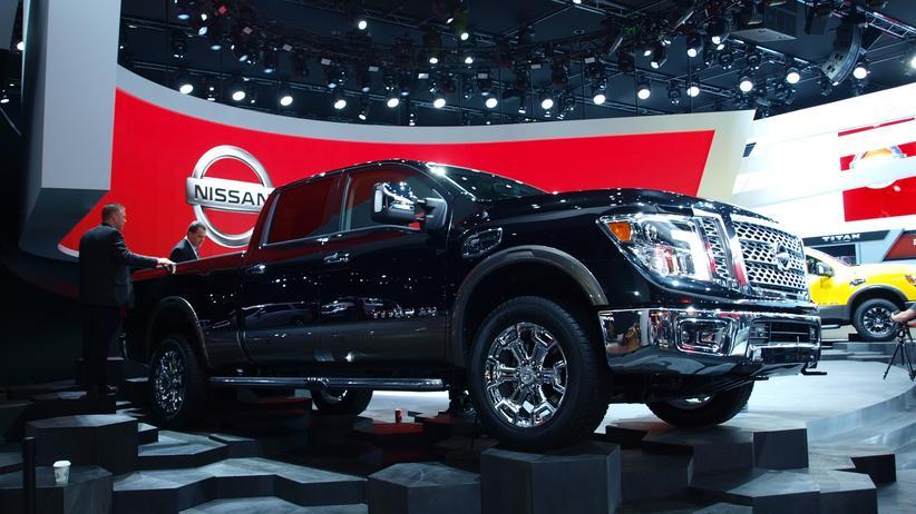 Pick-up Titan von Nissan auf der Automesse in Detroit