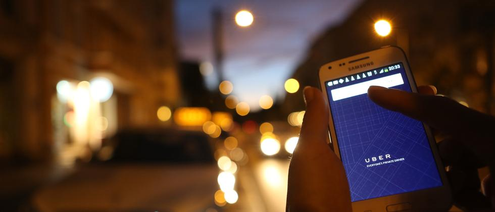 UberPop App Fahrdienst Taxi