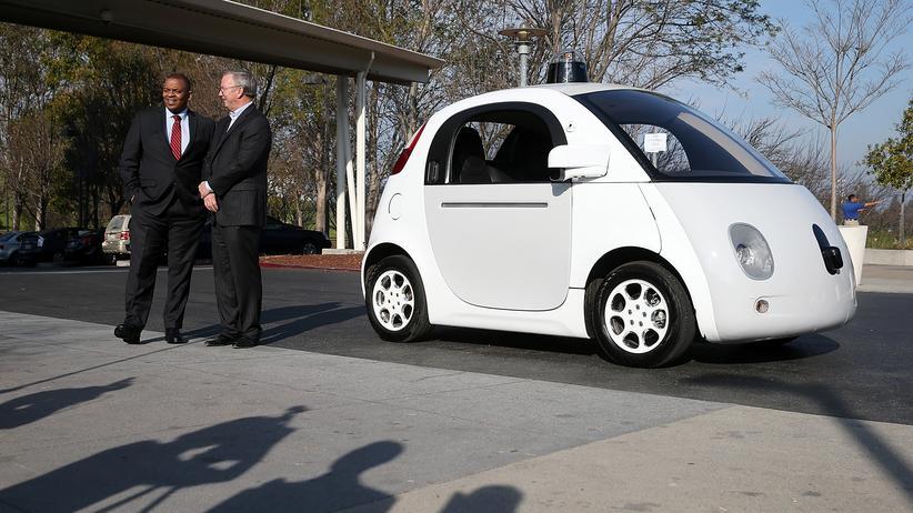 Autos von Google und Apple: Prototyp des Google-Autos