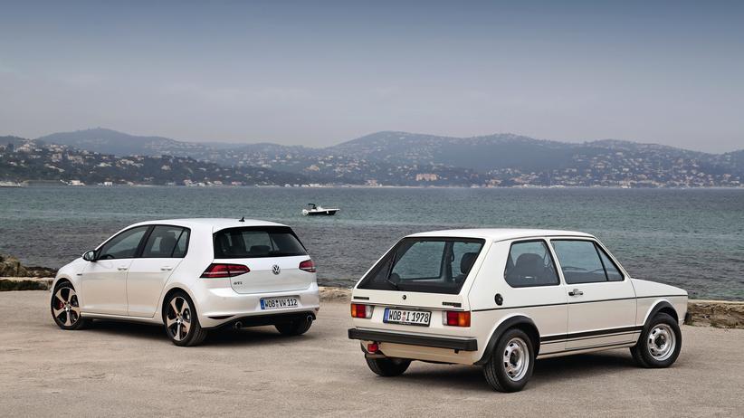 Die erste Generation des VW Golf, hier als GTI