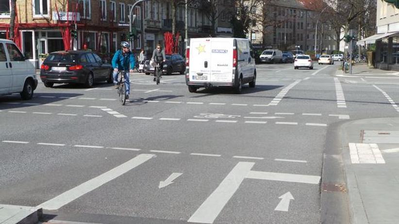 Radwege: Wildwuchs auf Hamburgs Straßen