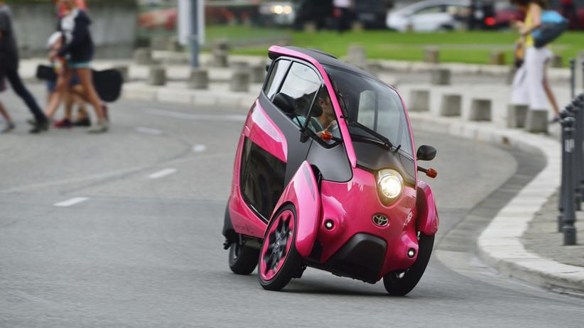 Der Toyota I-Road in Grenoble