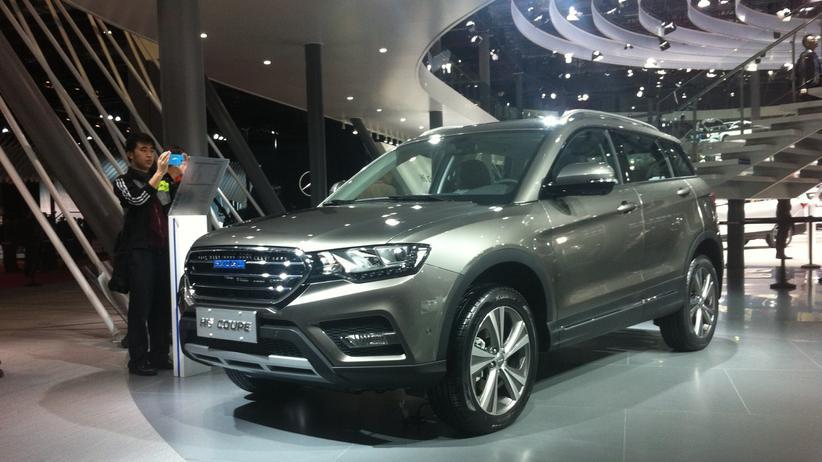 Das H6 Coupé des chinesischen Autobauers Haval