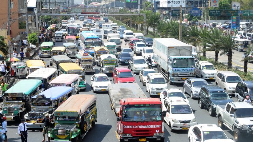 Verkehr in Manila