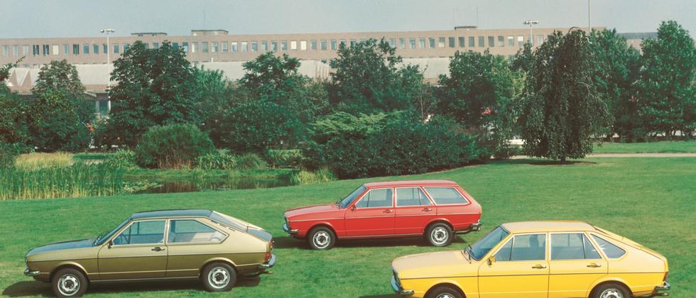 VW Passat aus den siebziger Jahren