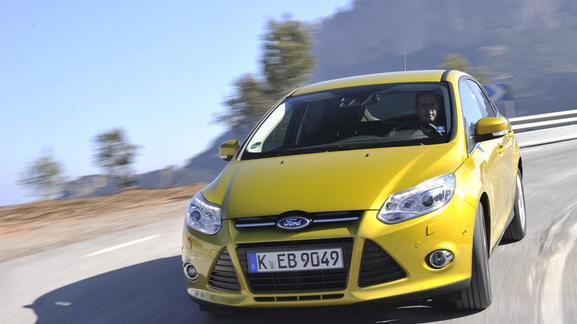 Ford Focus vor dem Facelift im Sommer 2014