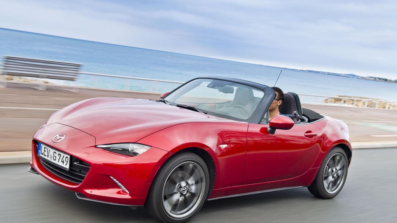 Mazda MX5 Ganz der Alte  ZEIT ONLINE
