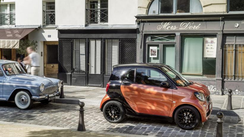 Mobilitaet, Smart Fortwo, Smart, Autotest, Daimler AG, Motor