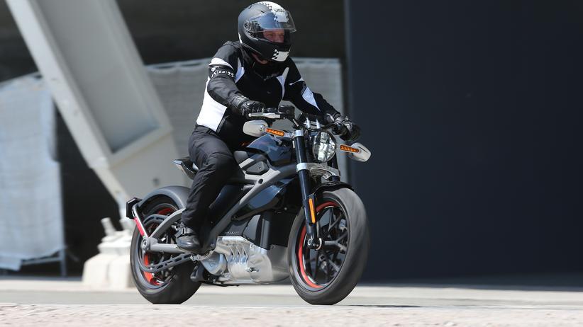 Elektromotorrad: Harley kann auch schnell und leise