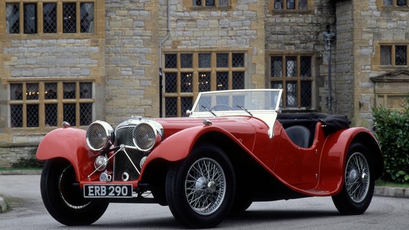 Der S.S. 100 Jaguar von 1936