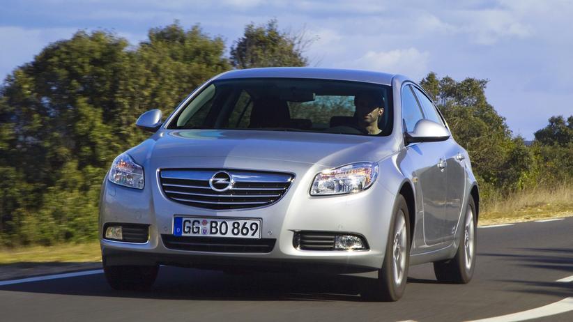 Der Opel Insignia vor dem Facelift 2013