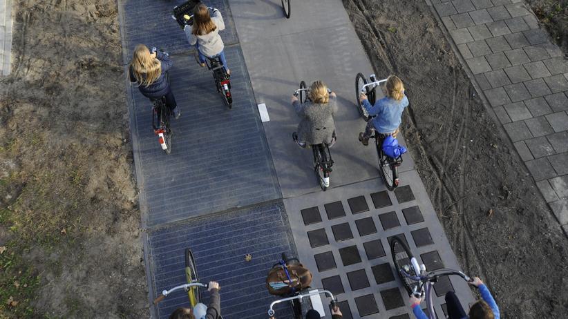 Nachhaltigkeit: Der Strom kommt aus dem Radweg