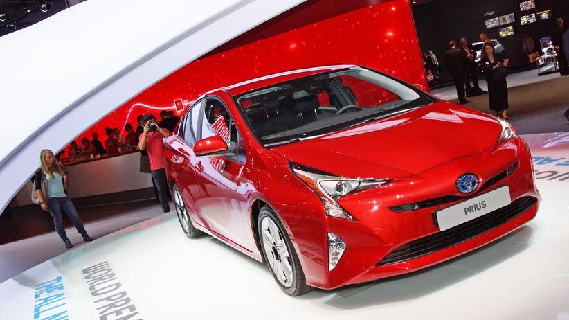 Der neue Toyota Prius auf der IAA