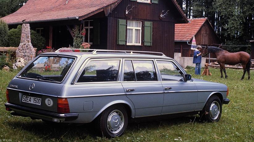 Kombivariante des W 123 von Mercedes-Benz