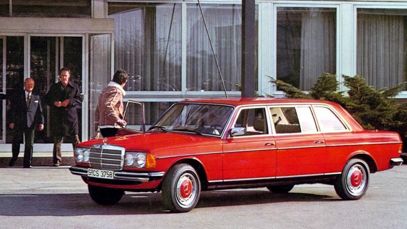 Mercedes-Benz W 123 mit besonders langem Radstand