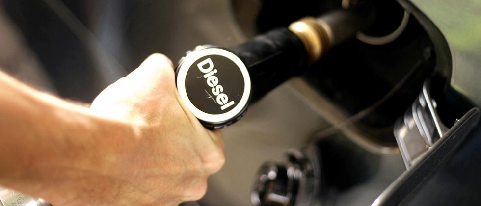 Diesel Tankstelle