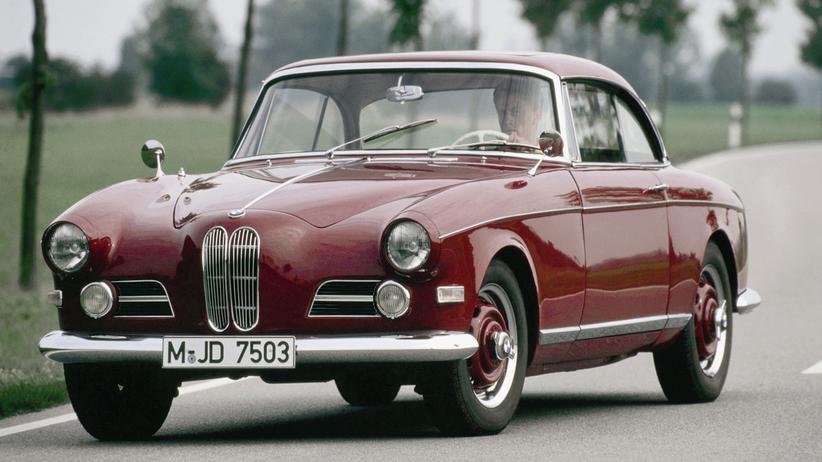 Ein BMW 503 Coupé aus den späten 1950er Jahren