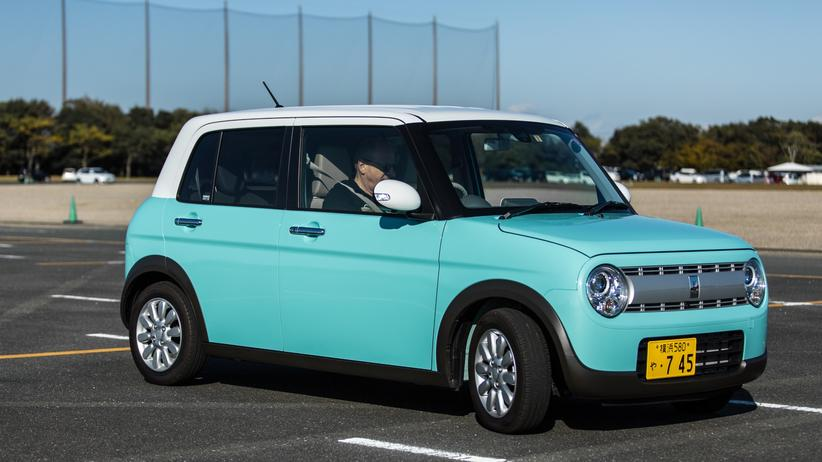 Japan: Kleine Autos, zum Erfolg gefördert