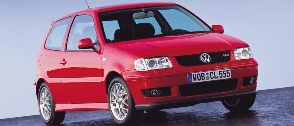 Der VW Polo in der Version der späten 1990er Jahre