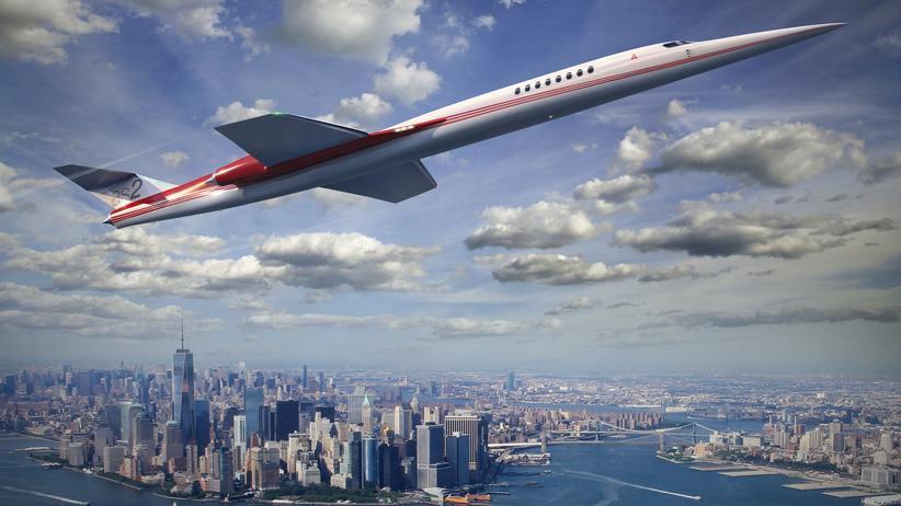 Flugzeuge: Die US-Firma Aerion arbeitet seit mehreren Jahren an dem Überschallflugzeug AS2.
