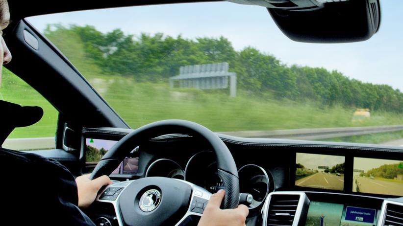 Kameras statt Außenspiegel bei einem Auto