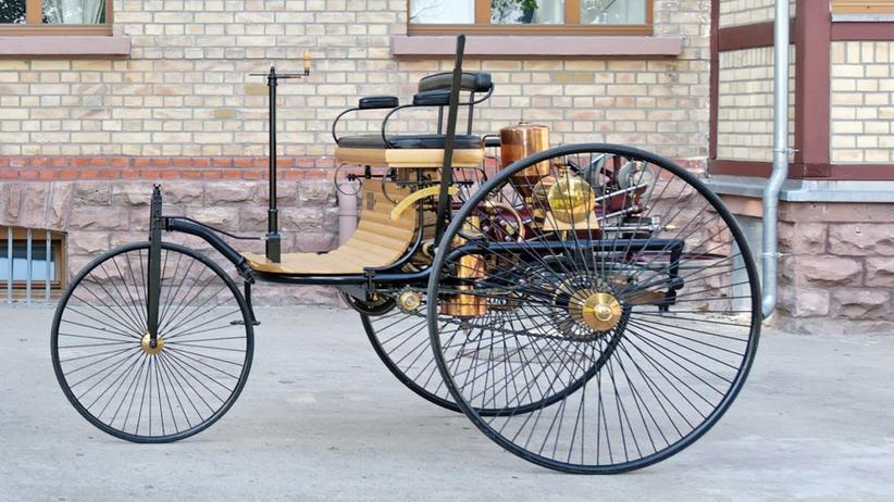 Carl Benz: Der Carl Benz Patent-Motorwagen von 1886
