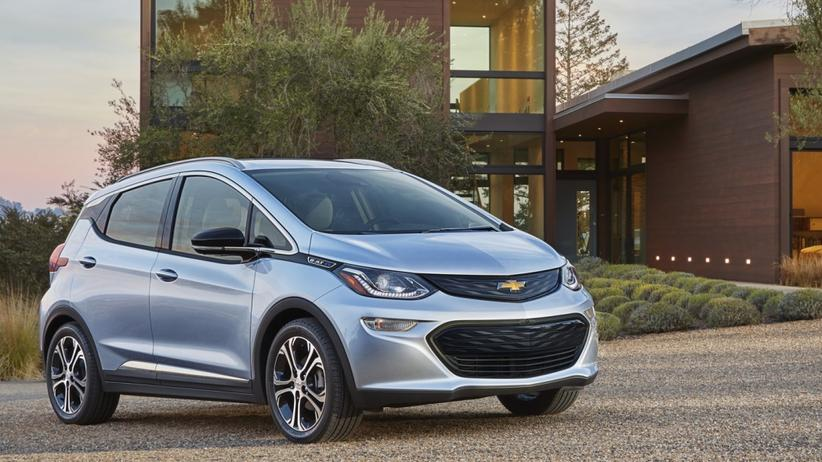 Elektroauto: Der Chevrolet Bolt soll mit einer Akkuladung 320 Kilometer und mehr schaffen.