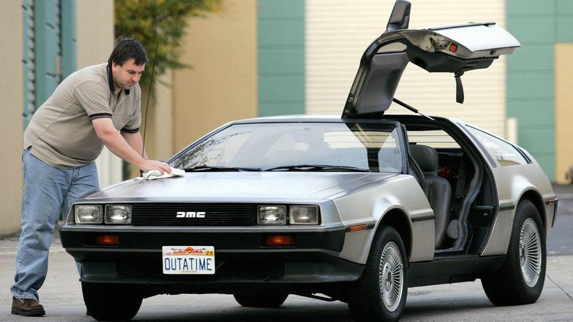 DeLorean: Ein australischer Besitzer eines DeLorean DMC-12 von 1981 (Archivbild)