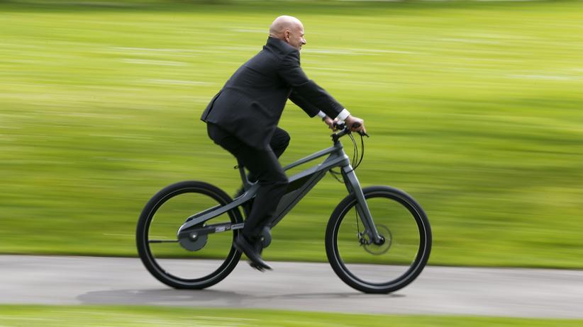 Fahrrad: Der Prototyp eines kettenlosen Elektrofahrrads (Archivbild)